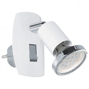 Mini 4, LED, mit beweglicher Achse, weiß