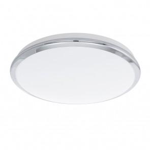 Manilva, LED, Ø 38,5 cm, Chrom