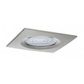 Premium, EBL LED, 3er Set Nova,eckig dim LED 3x7W 230V GU10 Eisen geb