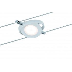 Wire Systems Spot RoundMac Ø 10,2 cm weiß 1-flammig rund