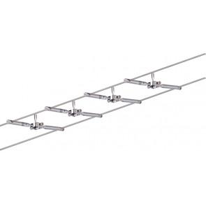 WireSystem Togo, GU5,3, 4-flammig, dimmbar, chrom