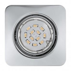 Peneto, 8,7 x 8,7 cm, inkl LED, Chrom