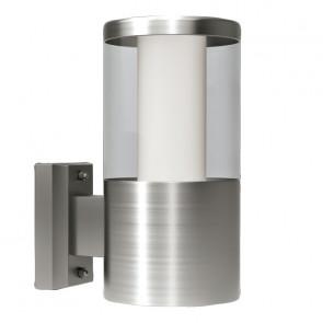 Basalgo 1 Höhe 18 cm metallisch 1-flammig zylinderförmig