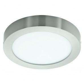 Fueva 1, LED, Ø 22,5 cm, nickel-matt