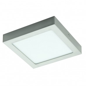 Fueva 1, LED, 22,5 x 22,5 cm, 3000K, nickel-matt