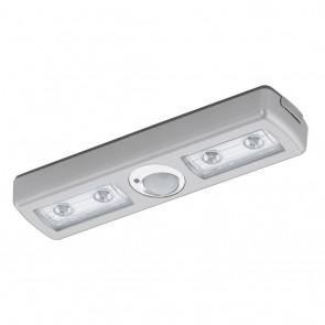 Baliola, Länge 18 cm, inkl LED, Bewegungssensor, silber
