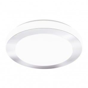 Carpi, LED, Ø 38,5 cm, IP44, weiß
