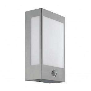 Ralora 1, LED, Bewegungsmelder, IP44, Edelstahl