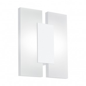 Metrass 2, LED, 17 x 20 cm, weiß