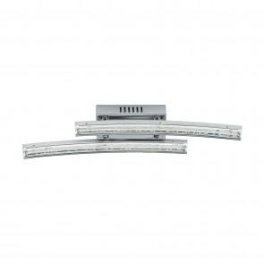 Pertini, LED, 33 x 6 cm, Chrom