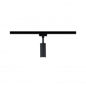 URail Spot Tubo Höhe 18,6 cm schwarz 1-flammig zylinderförmig