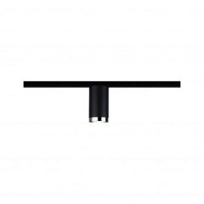 URail Spot Tube Höhe 11,2 cm schwarz 1-flammig zylinderförmig