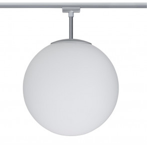 URail Ceiling Globe Big Ø 30 cm weiß 1-flammig kugelförmig