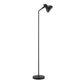 Aslak, E27, IP20, Höhe 140 cm, schwarz