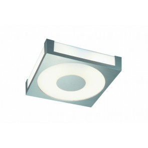 Quaris, 31 x 31 cm, wechselbare Farbfilter, Aluminium