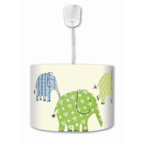 Designers Guild Elefant Uno grün