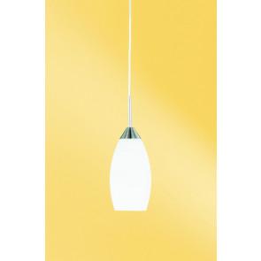 Flame, E27, IP20, Höhe 150 cm, nickel-matt