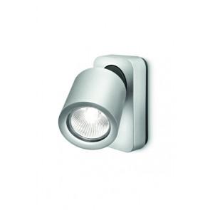 Dolium, 1-flammig, 7,2 x 12,4 cm, aluminiumfarben