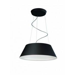 Cielo, LED, Ø 59,3 cm, schwarz