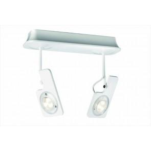 Hava 2, LED, 2-flammig, weiß