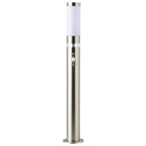 Bole, inkl LED, Bewegungs- und Dämmerungssensor, Höhe 77,5 cm, metallisch