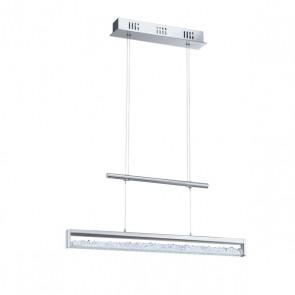 Cardito, LED, Länge 70 cm, Kristall, höhenverstellbar