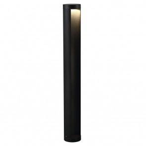 Mino, LED, IP54, Höhe 70 cm, schwarz