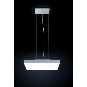 CORUM, LED 3000K, 63W, 4731lm, Notlicht 3h, DALI, 570x570mm
