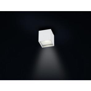 Schmitz@Home 8 x 8 cm weiß 1-flammig würfelförmig