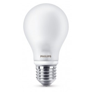 LED E27, 6,7W (ersetzt 60W), warmweiß, matt, nicht dimmbar