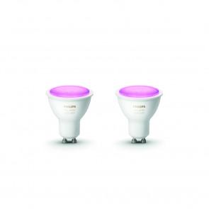 GU10 White & Color Ambiance, 2er Erweiterung, 350 lm, 2.000-6.500 K